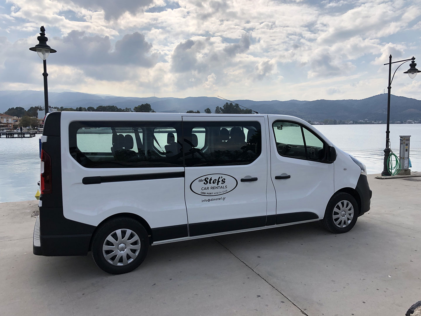 Minivan Transfer Mini Bus Service from Athens and North Evia